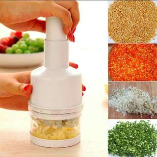 PRESSED ONION GARLIC AND VEGETABLES CHOPPER