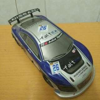 Mobil balap silver