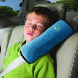 Car Seat Belt Pillow Cushion Strap (Blue color)