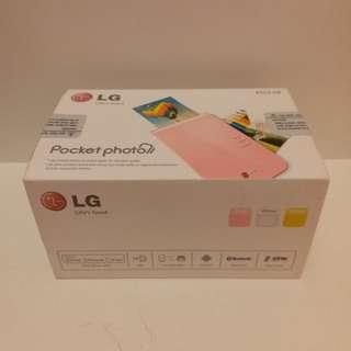 LG Pocket Photo PD239(White)/Photo Printer