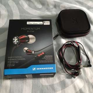 Sennheiser momentum in-ear phones