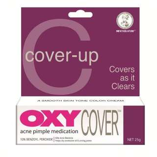 Open PO Jastip KL Ready 13 Maret OXY Cover (For Stubborn Acne) 25g
