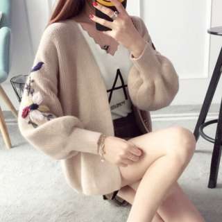 BN Embroidery Knit Cardigan/ Jacket