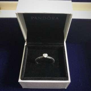 Pandora 經典心形戒指 (size54)
