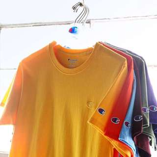 NEW COLOURS!!! Champion Classic Jersey Tee Shirt