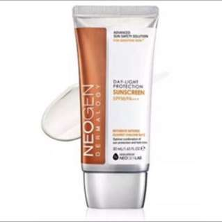 Neogen dermalogy daylight protection sunscreen spf50++