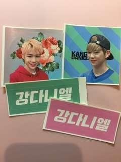 Wannaone Kang daniel stickers