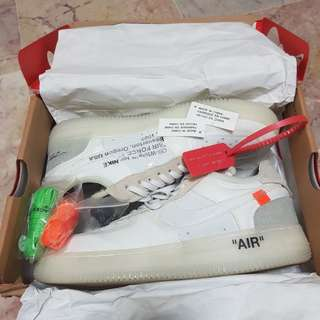Off white X Air Force low 1. Not sure UA or anything.