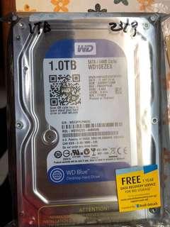 WD Blue Desktop Hard Drive