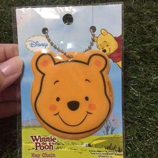 Winnie The Pooh keychain with mirror