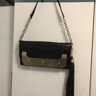 DVF clutch bag