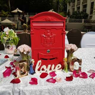 "Customizable ""ROM/Wedding-Album/Reception Table Decoration Package"