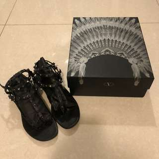 Valentino rockstud sandals 38.5 🖤清屋!