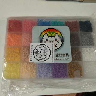 24色软豆套装  24 Colour Soft Beads Set