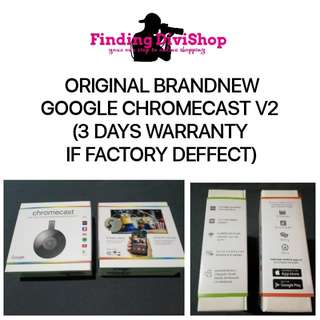 Brandnew Original Google Chromecast 2