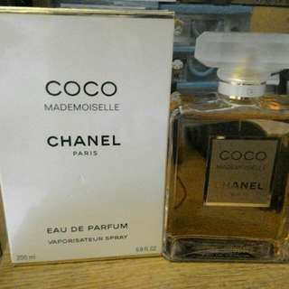 Chanel Mademoiselle 200ml parfume