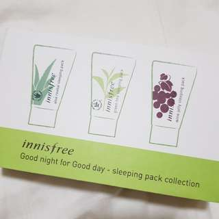 Innisfree Sleeping Pack Collection