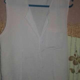 Baju atasan warna asli pink