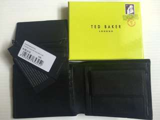 TED BAKER Real Leather Wallet 100% NEW
