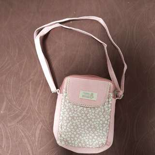 Pink handmade bag