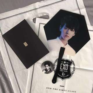 EXO Baekhyun Official Merch