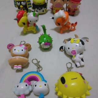 Tokidoki  and sanrio