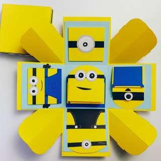 Minion Explosion Gift Box