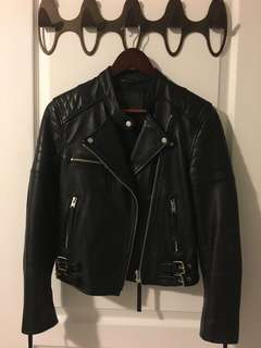 All Saints moto leather jacket