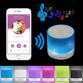 Mrs win A9 Mini Wireless Bluetooth Speaker w/ LED