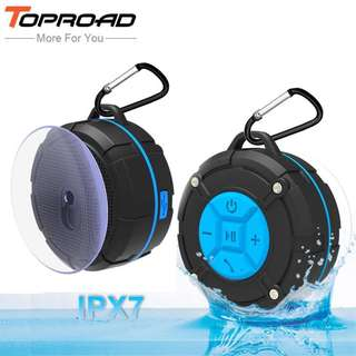TOPROAD Waterproof Outdoor Bluetooth Speaker