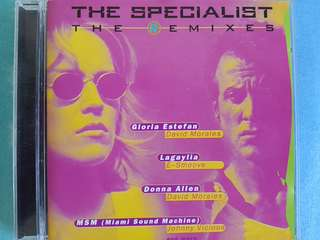 Soundtrack The Specialist The remixes Miami Sound machine, Gloria estefan