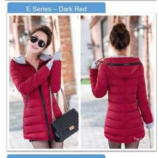 Winter down jacket size xxl