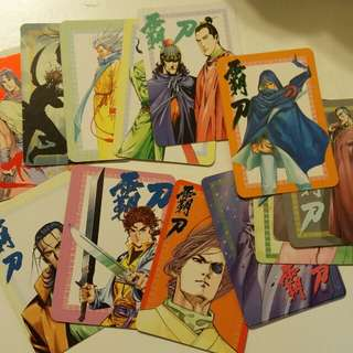 霸刀 風雲 天下 聶風 咭 card
