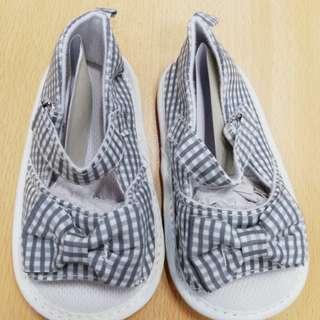 Stripe baby sandals