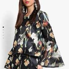 Lubna printed top
