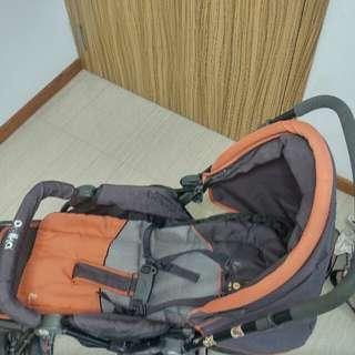 Polka pram stroller on very pocket friendly cost