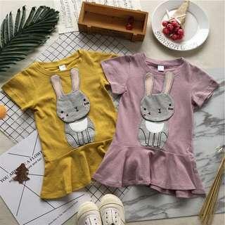 Girls Rabbit dress