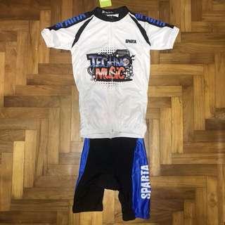 Kid's full cycling attire