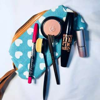TAKE ALL FOR 399 make up plus free pouch