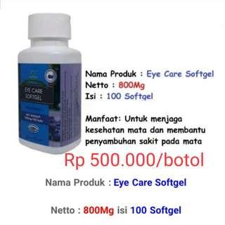 Obat Herbal Mata (Eye Care Softgel)