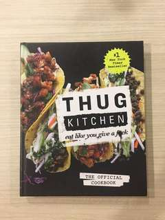 Thug Kitchen Vegan Recipe Cookbook