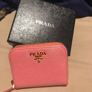 Prada card holder (brand new)