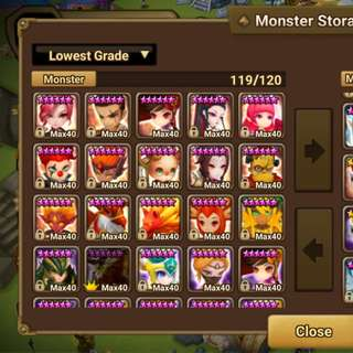 Asia Account with 2 LnD nat 5s and 96 6stars