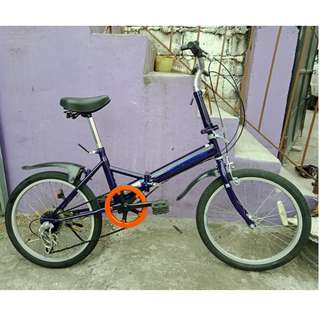 CAPT. STAG FOLDING BIKE (FREE DELIVERY AND NEGOTIABLE!)