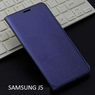 Samsung Galaxy J5 Smartphone Case Navy Blue