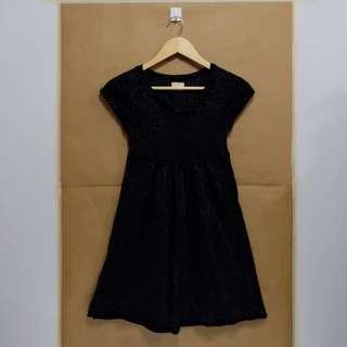 Kashieca Glittery Dress (Black)