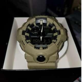 Casio G-Shock GA-700UC-5A Tan