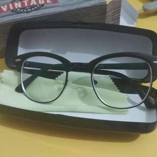 Kacamata Frame Korea Vintage Baru Minus