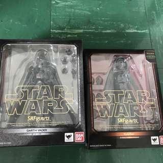 'Flash Sales' SH Figuarts Darth Vader & Kylo Ren Set.