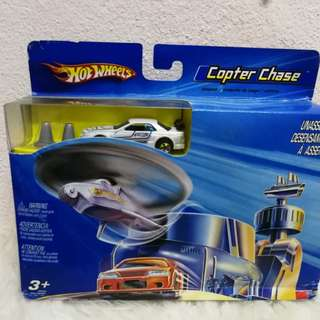 hotwheels r32 copter chase